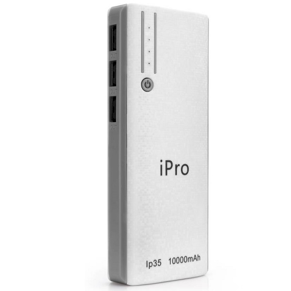 iPro 10000 mAh Power Bank
