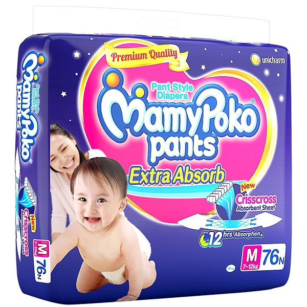 MamyPoko Extra Absorb Medium Size Pants