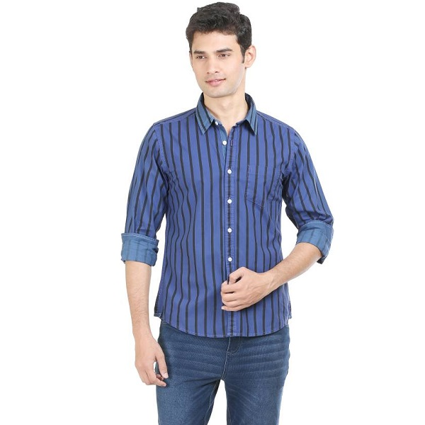 Flippd Mens Striped Shirt