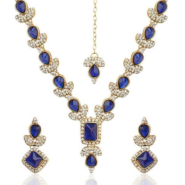 Ethnic INDIA Jewelry Bridal Necklace Set