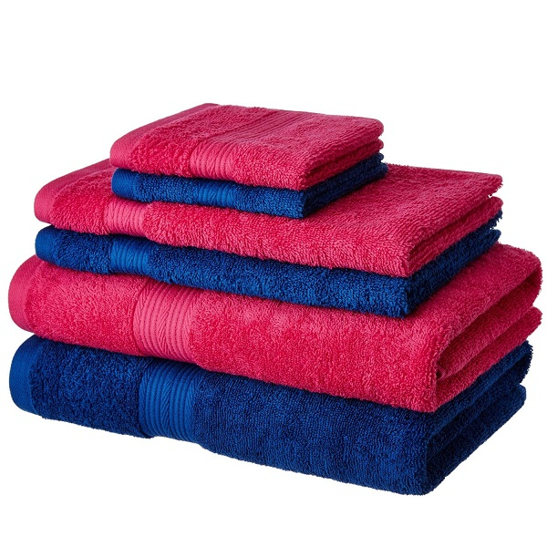 Solimo Cotton 6 Piece Towel Set