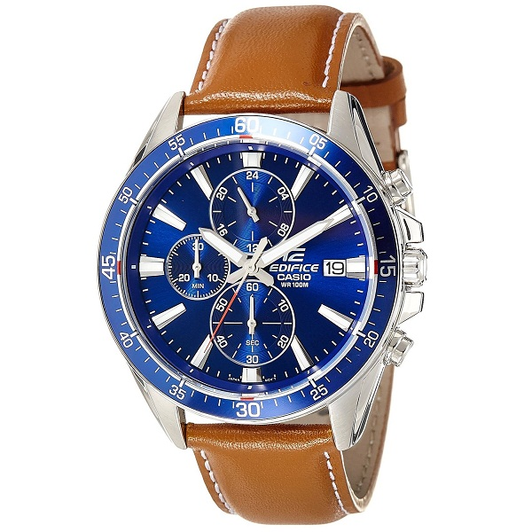 Casio Edifice Analog Blue Dial Mens Watch