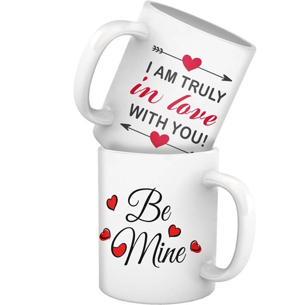 Tiedribbons TIED RIBBONS couple mug set