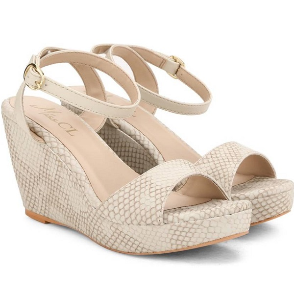 Carlton London Miss CL Women TAUPE Wedges