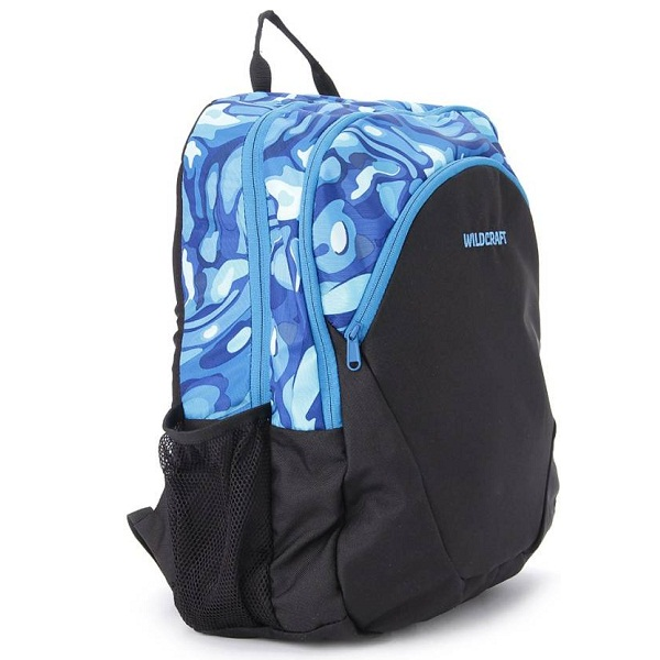 Wildcraft Hinge Blue Medium Backpack