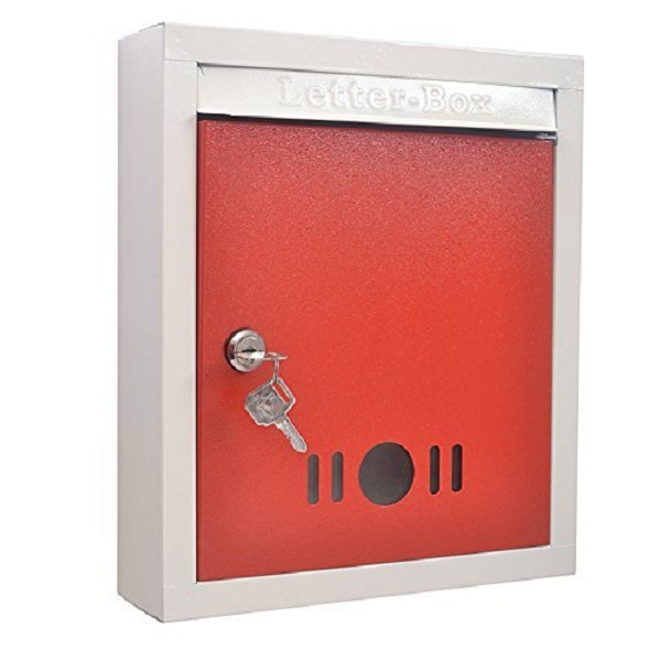 Klaxon High Grade Metal Letter Box