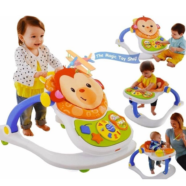 Fisher Price 4 in 1 Monkey Entertainer CBV66