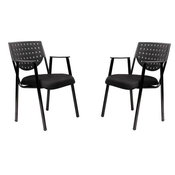 Magnus PRIMA FIX SET OF 2 PCS Metal Visitor Chair