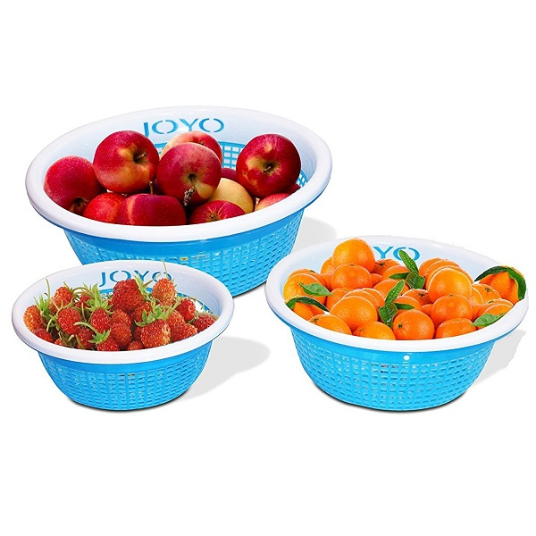 Joyo Fruit Loop 3 Piece Polypropylene Basket Set