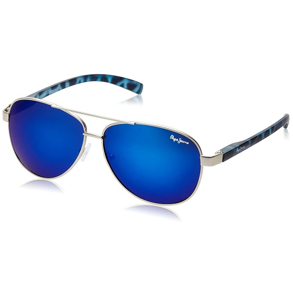 Pepe Jeans UV Protected Aviator Unisex Sunglasses