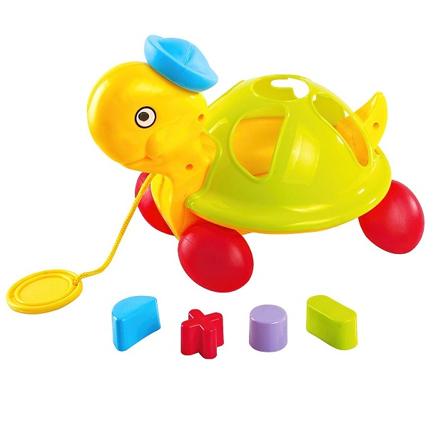 Littles Pull Along Shape Sorting Tortoise
