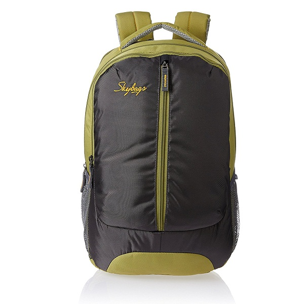 Skybags Flux 25 Ltrs Green Casual Backpack