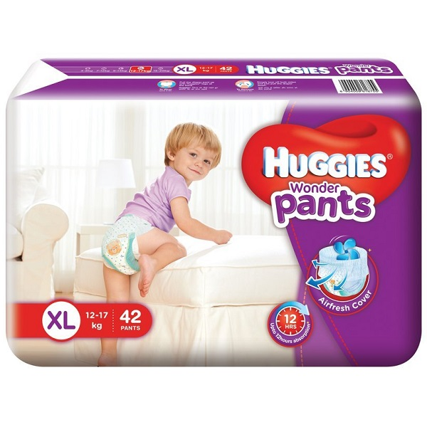 Huggies Wonder Pants Extra Large Size Diapers 42 Count