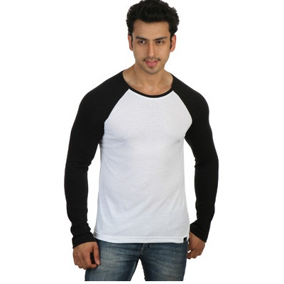 Rigo Solid Mens Round Neck T Shirt