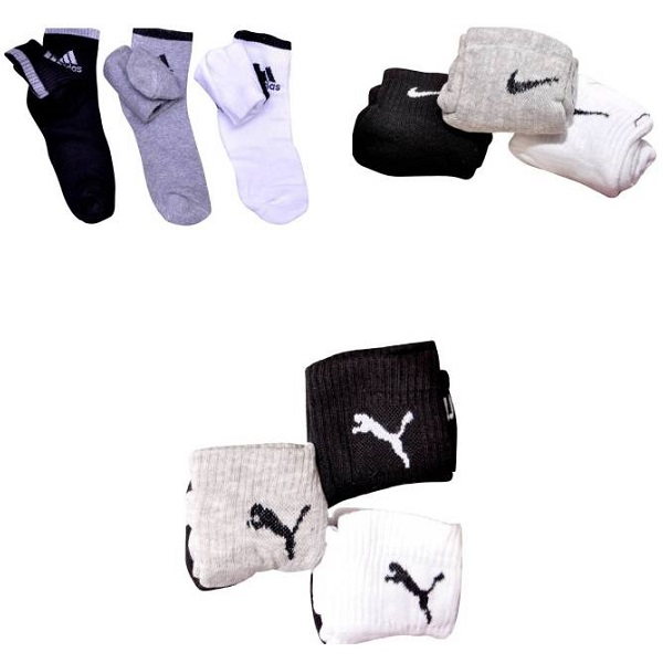 RR Accessories Mens Ankle Length Socks
