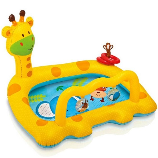 KASCN GIRAFF PADDLING POOL INTEX FOR ALL KIDS
