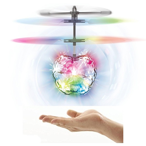 Sunshine Flying Ball with Motion Sensors and 3D Lights