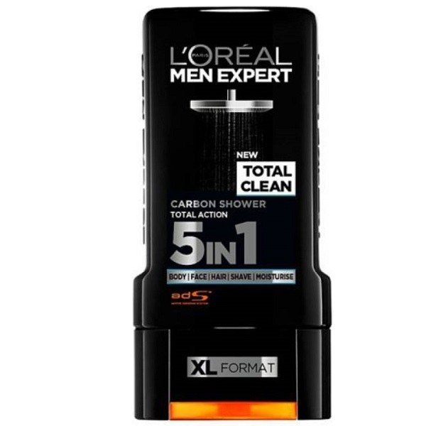 LOreal Paris TOTAL CLEAN CARBON SHOWER 5 in 1