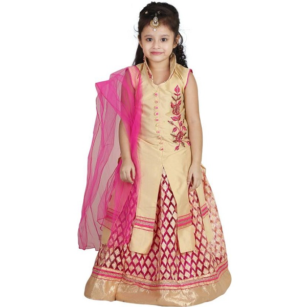 Crazeis Girls Lehenga Choli