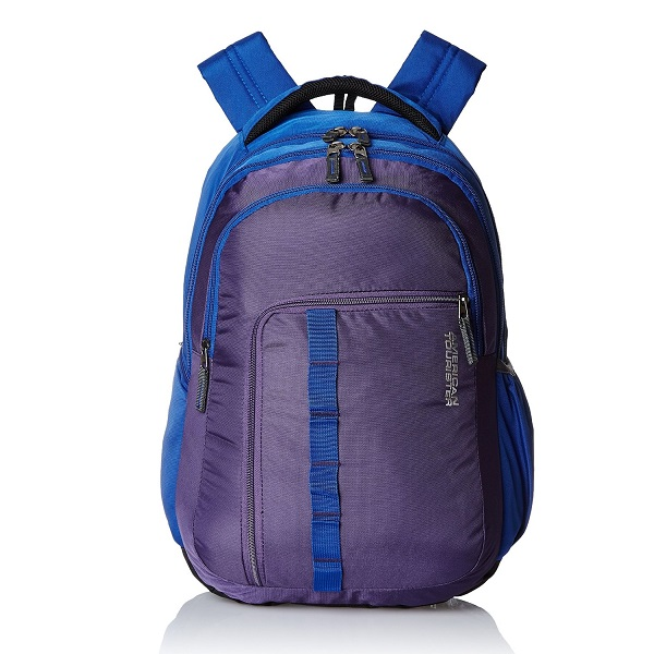 American Tourister Comet Purple Laptop Backpack