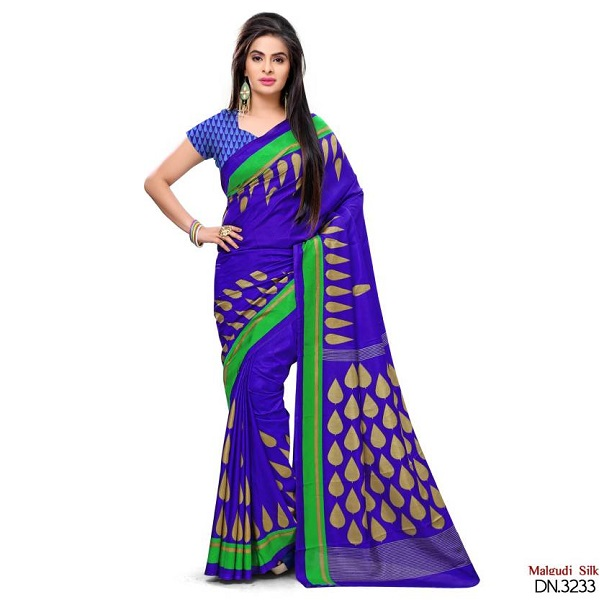 Peecaso Self Design Daily Wear Art Silk Sari