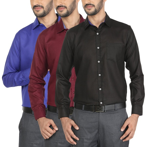 Mark Pollo Combo of 3 Shirts For Men
