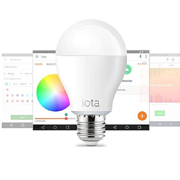 Iota Lite Bluetooth Smart LED bulb