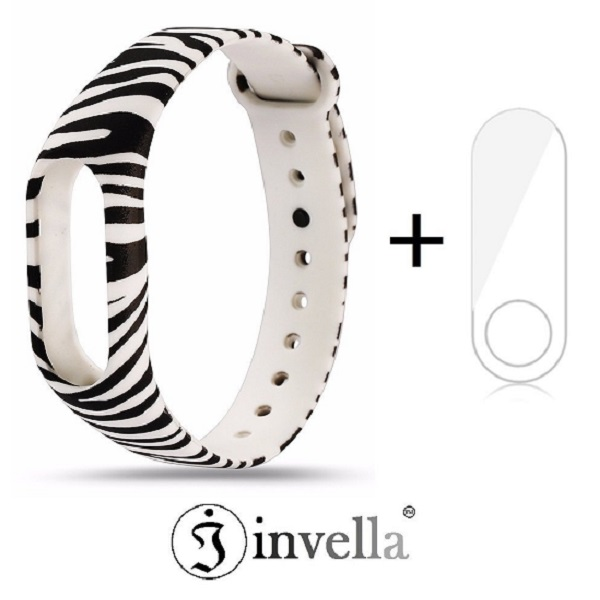 invella Mi Band 2 Designer Belt with Screen Guard