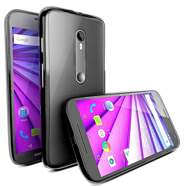 MTT Shock Absorption Transparent Case for Moto