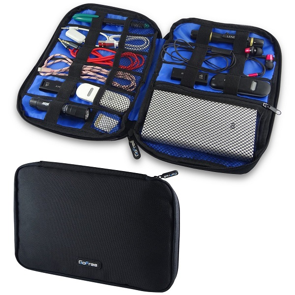 GoFree Digital Accessories Organizer Pouch