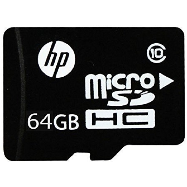HP Micro SD 64GB class 10 memory card