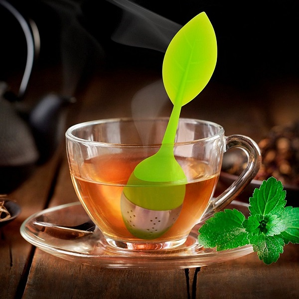 Silicon Leaf Tea Infuser
