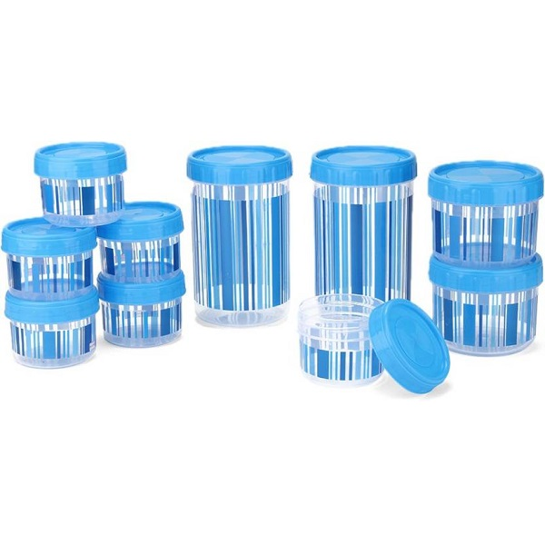 Polyset Pack of 10 Storage Container