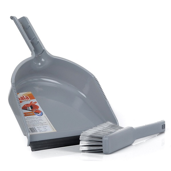Gala Dustgo Floor Broom Set with a Dustpan