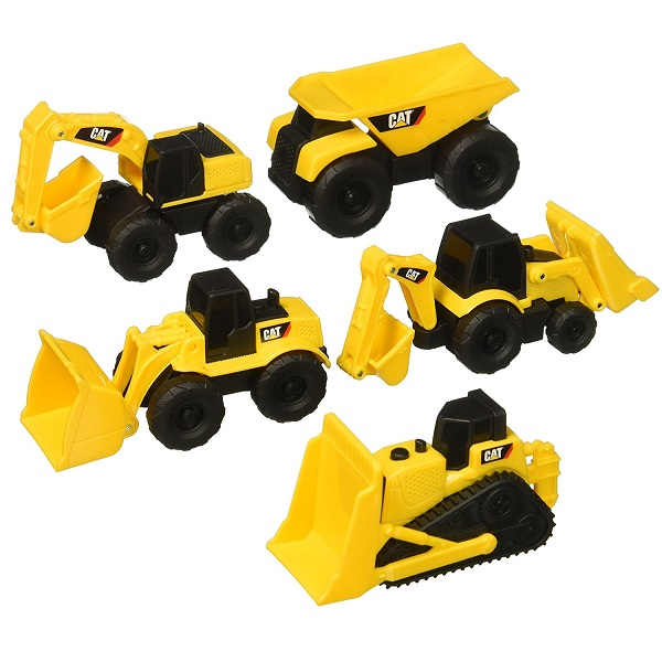 Caterpillar Construction Mini Machine 5 Pack
