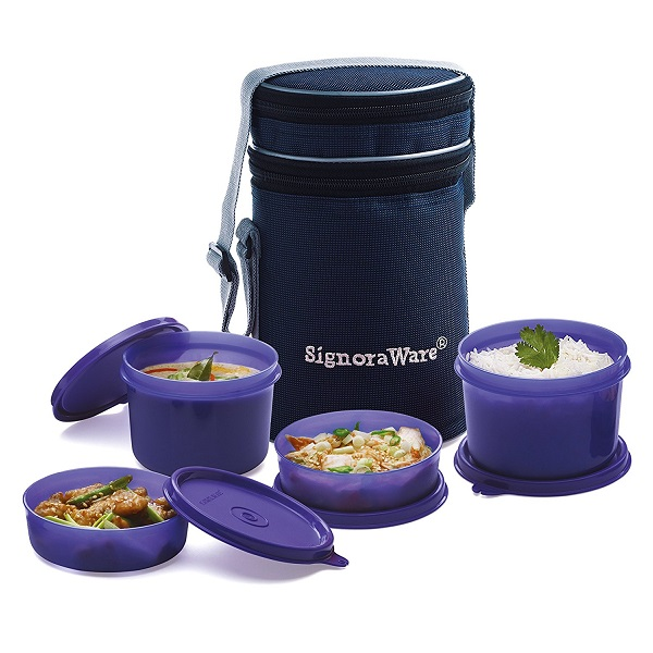 Signoraware Executive Lunch Box with Bag