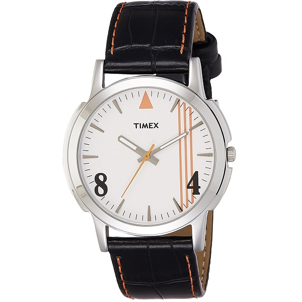 Timex Analog White Dial Mens Watch