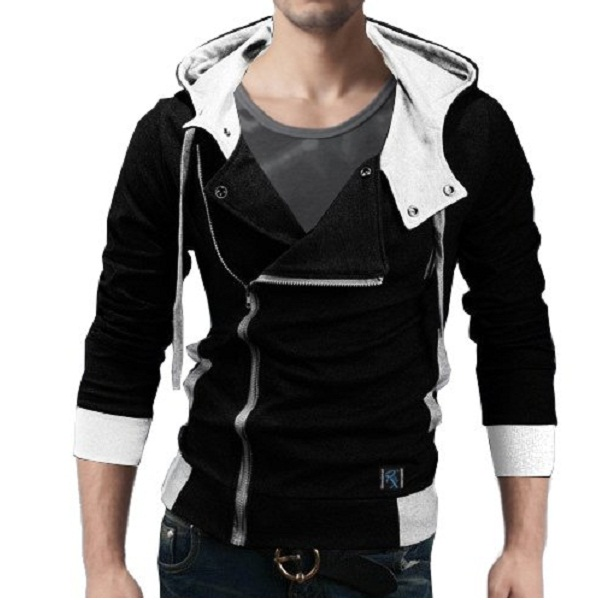 Seven Rocks Rich Cotton Mens Hoodie Sweatshirt Jacket