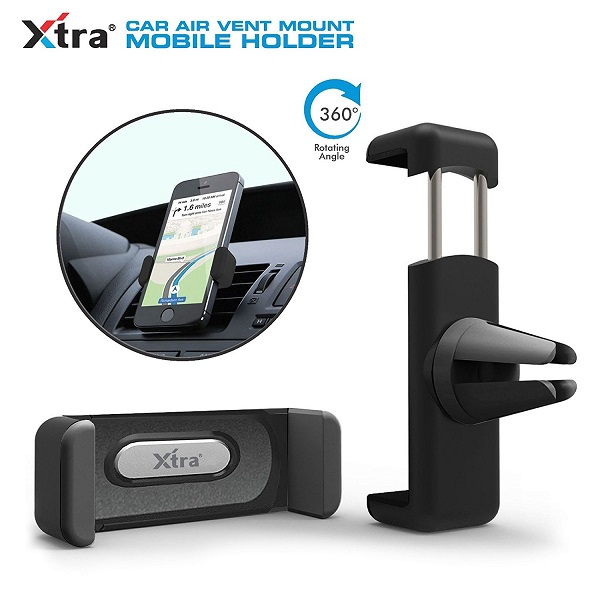 XTRA Phone Holder Air Vent 360 Degree Car Holder