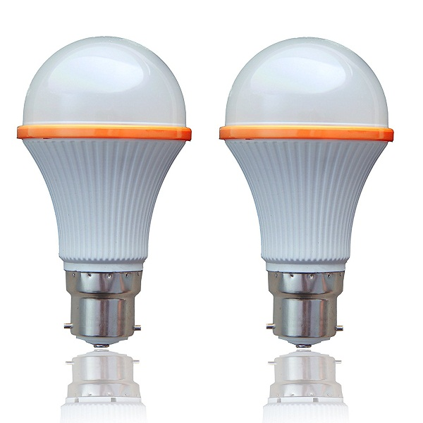 SSK LED 8 Watts Unbreakable LED Bulb 2Pcs
