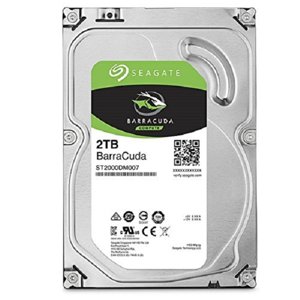 Seagate Barracuda 2TB Internal Bare Drive