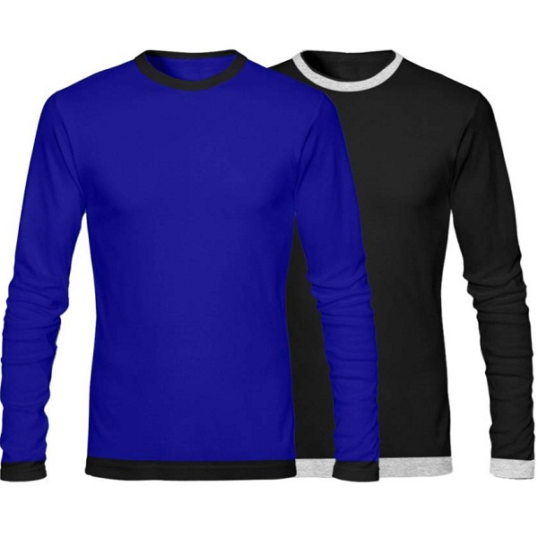 GHPC Solid Mens TShirt Pack of 2