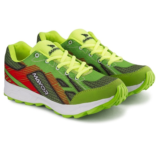 Mayor Ultron Lime Running Shoe