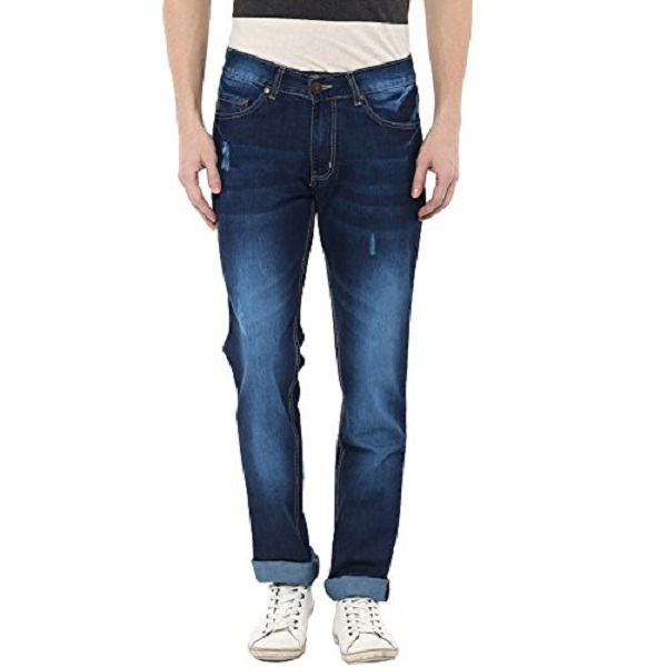 American Crew Mens Straight Fit Jeans