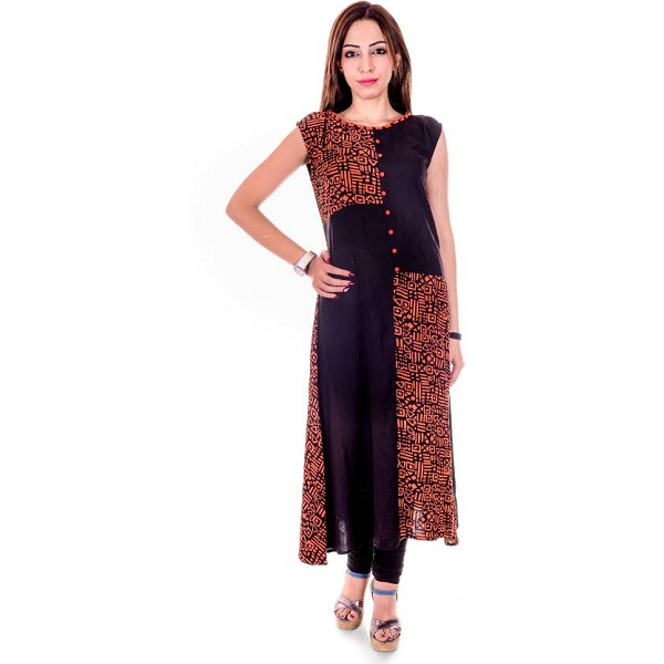 Goodwill Impex Casual Geometric Print Womens Kurti