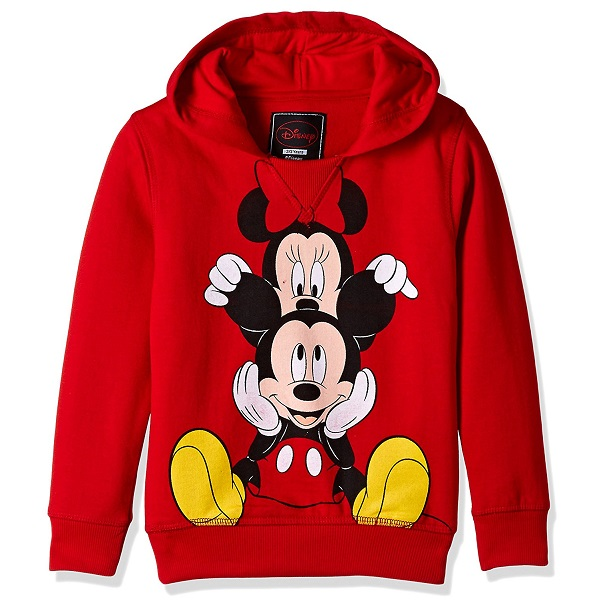 Mickey And Friends Girls Sweatshirt