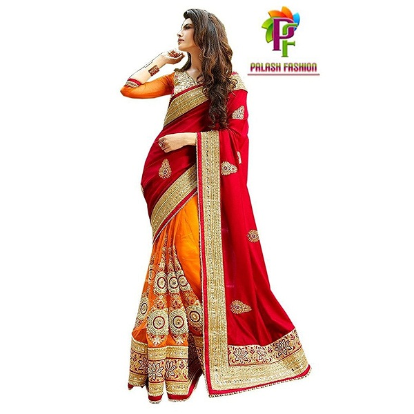 Palash fashions Designer Saree