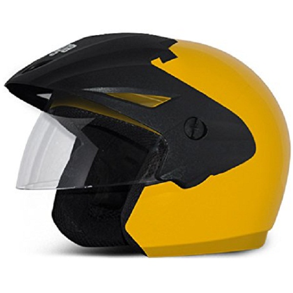 Vega Cruiser Open Face Helmet with Peak