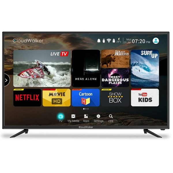 CloudWalker Cloud TV 43Inch Full HD Smart LED TV
