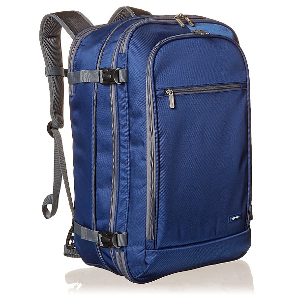 AmazonBasics Carry On Travel Backpack